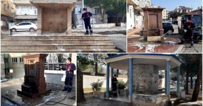 Tatlı su çeşmelerinde temizlik
