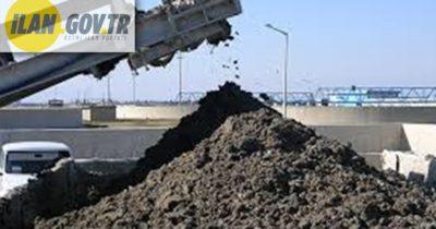 500,00 Ton arıtma çamuru nakli ve bertaraf hizmeti alınacaktır