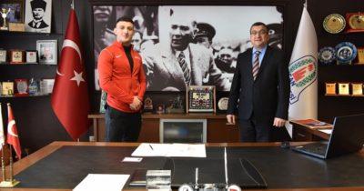 Çan Belediyesi Güreş Kulübü'ne yeni transfer