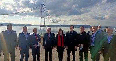 TBMM Başkanı Şentop köprüyü inceledi