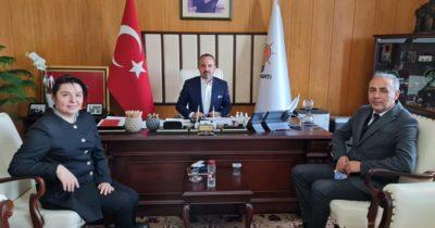 Zileli, AK Partili vekillerle görüştü