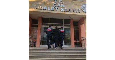 Çan'da FETÖ operasyonu: 1 tutuklu