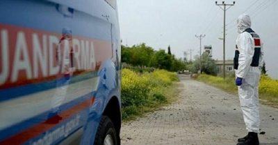 Bir belde ve 3 köy karantinaya alındı
