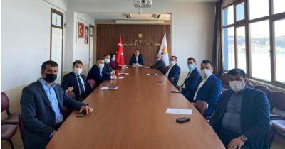 Başkan Makas, ilçe başkanlarıyla buluştu