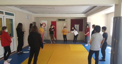 Judocular antrenmanda