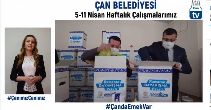 """Başkan Bülent Öz, """"Üreten Çan hedefimiz"""" (videolu haber)"""