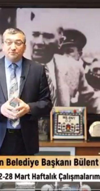 Başkan Öz haftayı değerlendirdi (videolu haber)