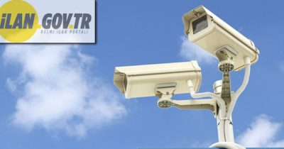Kameralı güvenlik sistem kurulumu yaptırılacaktır