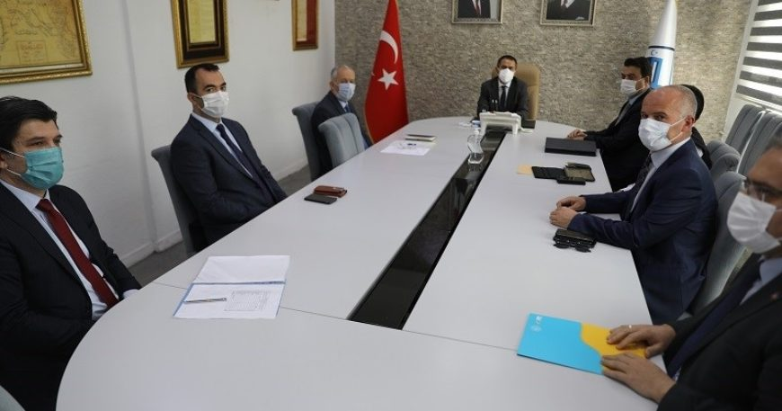Sosyal destek ödemelerinin dağıtımıyla ilgili toplantı yapıldı