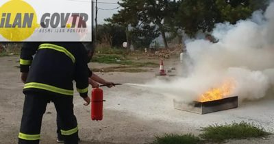 Yangın söndürme simülasyon ve eğitim kiti ile duman jeneratörü satın alınacaktır