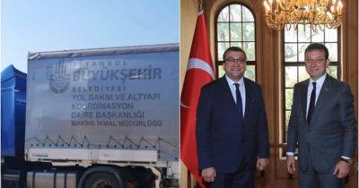 İBB'den Çan'a çöp konteyner desteği