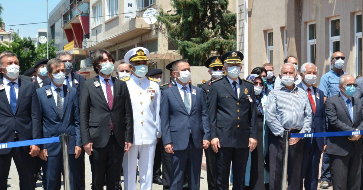Şehit polis Cihan Türkmenoğlu için tören düzenlendi (videolu haber)