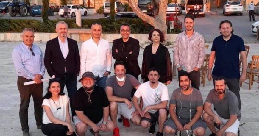 Mesut Yar belgesel çekimi için Çanakkale'de: Mevzu Troya ve arkeoloji!