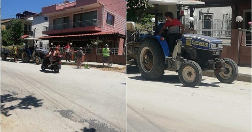 Güzelyalı sokakları temizlendi