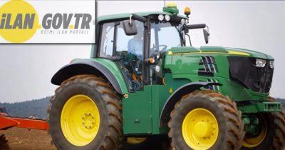 2015 model John Deere marka traktör icradan satılıktır