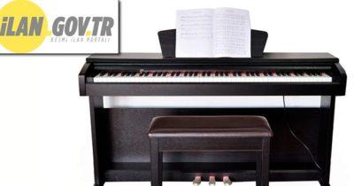 Piyano ve nota sehpası satın alınacaktır