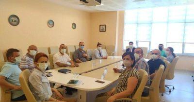 Yeni İl Sağlık Müdürü hastane personelini ziyaret etti