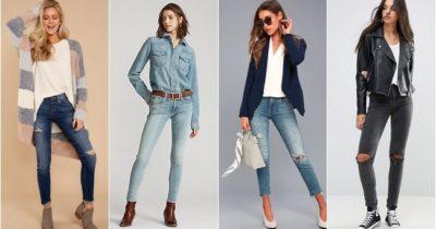 MODA: Skinny Pantolon Kombinleri