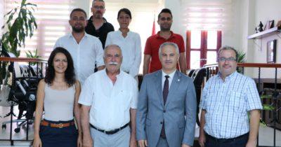 Başkan'dan Çanakkale Barosu'na iade-i ziyaret