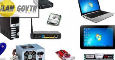 Bilgisayar donanım ekipmanları ve yazılım sistemleri satın alınacaktır