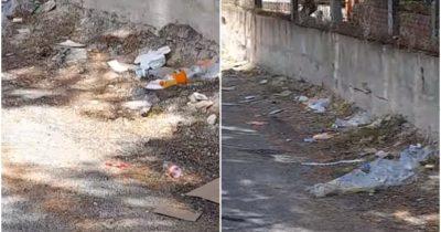 Güzelyalılar çöplerden şikayetçi