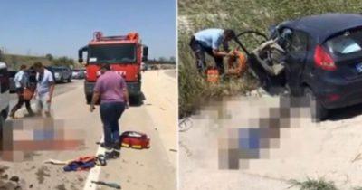 Gelibolu'da feci kaza: 2 ölü