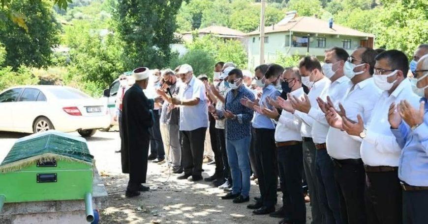 Murat Doğan'ın kayınpederi son yolculuğuna uğurlandı