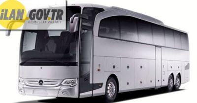 Otobüs kiralama hizmeti alınacaktır
