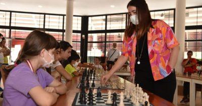Parlak zihinler satranç şenliğinde buluştu