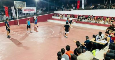 Streetball turnuvası devam ediyor