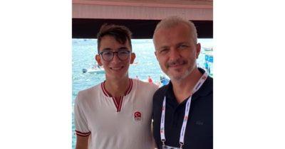 Ahmet Çelik, Mete Gazoz'la buluştu
