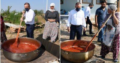 Bülent Turan'dan salça şov