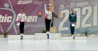Cimnastik yarışmasında Çanakkale başarısı