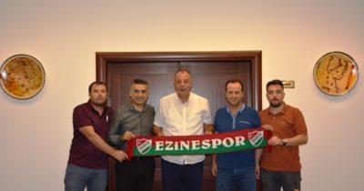 Ezinespor'dan Semizoğlu'na ziyaret