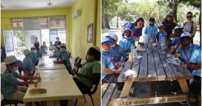 Göçmen çocukların yaz okulu heyecanı