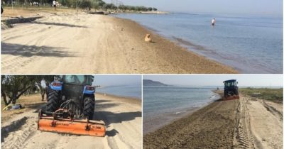 Kepez Plajı temizlendi