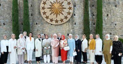 Kevser Turan, Emine Erdoğan'ın davetine katıldı