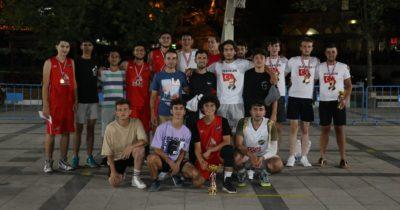 Streetball turnuvasında final heyecanı