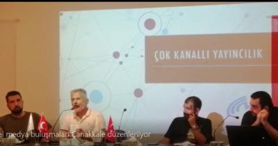 Yerel medya buluşmaları Çanakkale düzenleniyor (videolu haber)