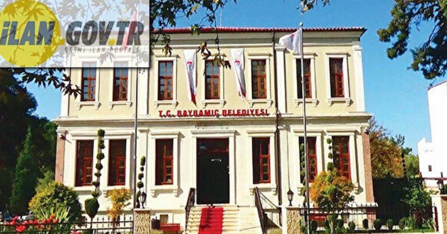Bayramiç Belediyesi 3 yıllığına iş yeri kiraya verecek