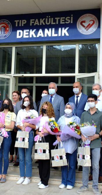 ÇOMÜ Tıp Fakültesinde ilk kayıt heyecanı (videolu haber)