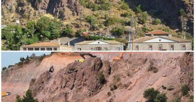 Limanının son görüntüsüne  taş ocağı madeni benzetmesi