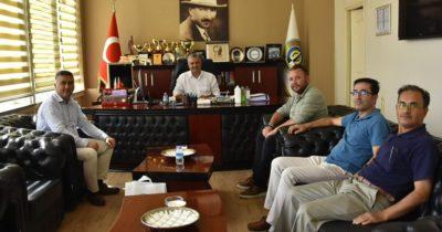Mesut Bayram belediye başkanlarıyla buluştu