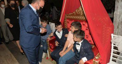 AK Partililer bu sünnet törenin buluştu