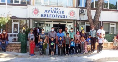 Ayvacık Belediyesinden toplu sünnet şöleni