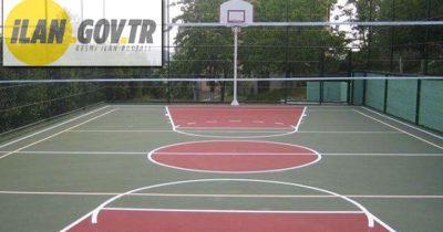 Basket-voleybol saha zemin iyileştirmesi yaptırılacak