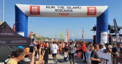 Bozcaada'da 'Run the Island' rüzgarı
