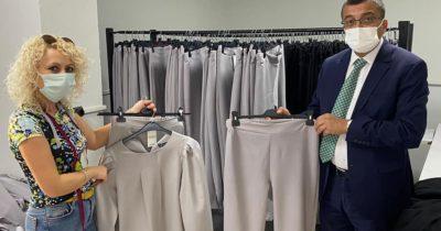 Tekstil atölyesinde iş hacmi büyüyor