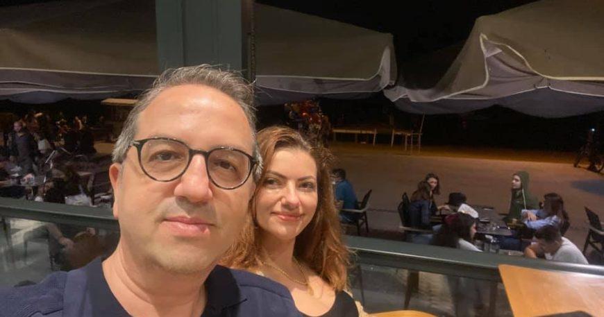 Şener çifti Çanakkale'de