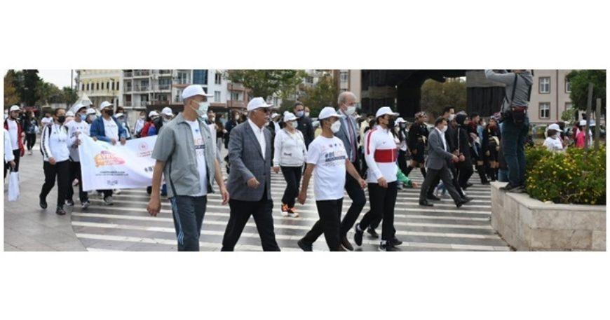 Çanakkale 'Sağlıklı Yaşam' için yürüdü